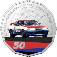 2020 50c Supercars 1991 Nissan R32 Skyline GTR