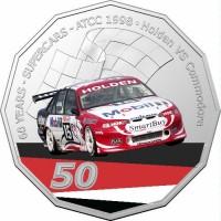 2020 50c Supercars 1998 Holden VS Commodore