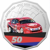 2020 50c Supercars 2000 Holden VT Commodore