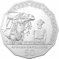 2020 50c Afghan Cameleers