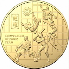 2020 50c Australian Olympic Team