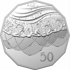 2021 50c Christmas Coin