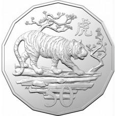 2022 50c Tiger