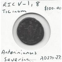 Severina RIC V-1, Ticinum 8