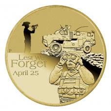 2016 $1 ANZAC - Royal Australian Armoured Corps