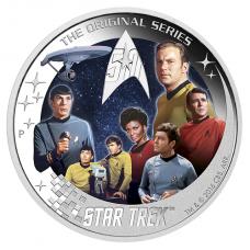 2016 $2 Star Trek - Crew Silver Proof