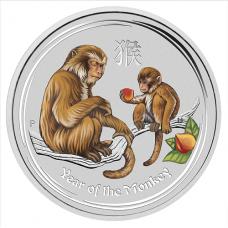 2016 $30 Monkey Silver Gemstone Edition