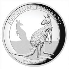 2016 $8 Kangaroo High Relief Silver Proof