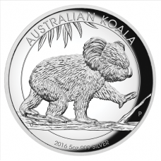 2016 $8 Koala Silver High Relief Proof