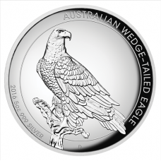 2016 $8 Wedgetailed Eagle High Relief Silver Proof