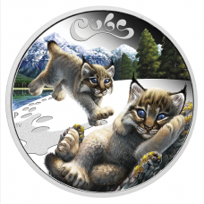 2016 50c The Cubs - Lynx Cubs