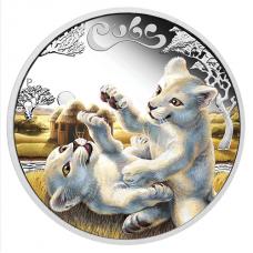 2016 50c The Cubs - White Lion