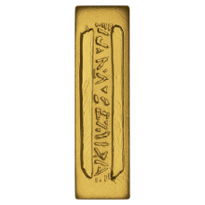 Star Trek 1oz Silver gold plated Latinum Slip