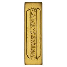 Star Trek 1oz Silver gold plated Latinum Slip