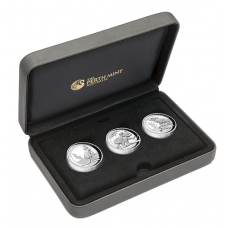 2016 $1 High Relief Silver Proof Set