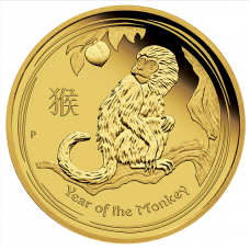 2016 $100 Monkey Gold Proof