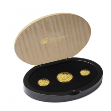 2016 Monkey 3 Coin Gold Proof Set