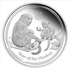 2016 $1 Monkey Silver Proof (Perth)