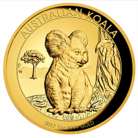 2017 $100 Koala Gold High Relief Proof