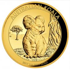 2017 $100 Koala Gold High Relief Proof