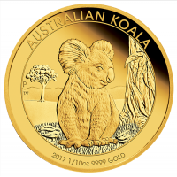 2017 $15 Koala Gold Proof