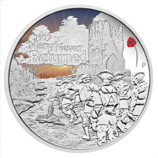 2017 $1 ANZAC Spirit - Many Never Returned