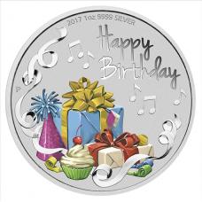2017 $1 Happy Birthday