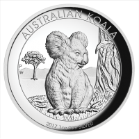 2017 $1 Koala Silver High Relief Proof