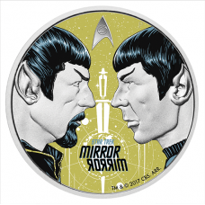 2017 $1 Star Trek - Mirror Mirror