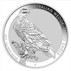 2017 $1 Wedgetail Eagle Silver BU