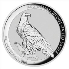 2017 $1 Wedgetail Eagle Silver High Relief