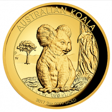 2017 $200 Koala Gold High Relief Proof