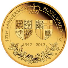 2017 $200 70th Royal Wedding Anniversary Gold Proof
