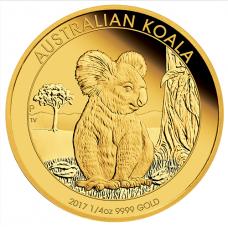 2017 $25 Koala Gold Proof