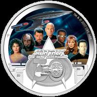 2017 $2 Star Trek - Next Generation Crew
