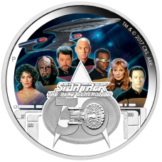 2017 $2 Star Trek - Next Generation Crew