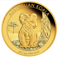 2017 $500 Koala Gold Proof