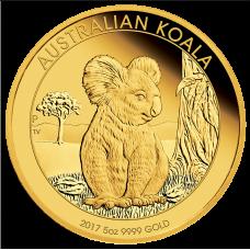 2017 $500 Koala Gold Proof