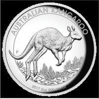 2017 $8 Kangaroo Silver High Relief Proof