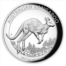 2017 $8 Kangaroo Silver High Relief Proof