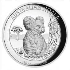 2017 $8 Koala High Relief Silver Proof