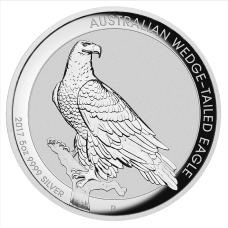 2017 $8 Wedgetail Eagle High Relief Silver Proof