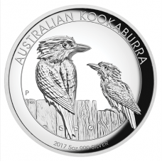 2017 $8 Kookaburra High Relief Silver Proof