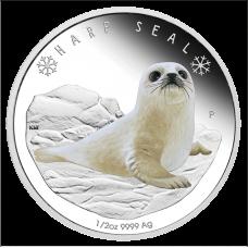 2017 50c Polar Babies - Harp Seal