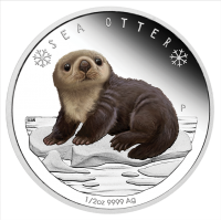 2017 50c Polar Babies - Sea Otter