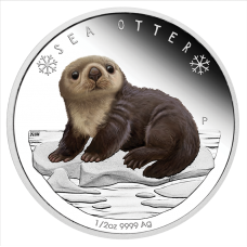 2017 50c Polar Babies - Sea Otter