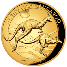 2018 $100 Kangaroo Gold Proof