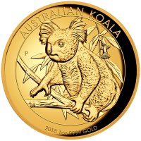 2018 $100 Koala Gold High Relief Proof