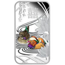 2018 $1 Chinese Wedding Silver Proof
