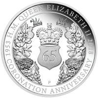 2018 $1 Coronation Silver Proof